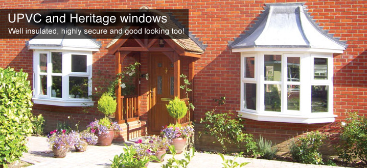 UPVC and Heritage casement windows