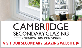 Cambridge Secondary Glazing link panel