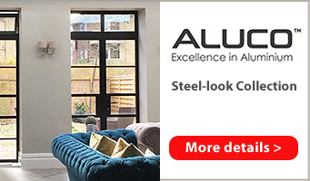 Aluco Steel-look doors and partitions