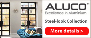 Aluco Steel Look doors and partitions