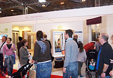 Paxtons exhibition - large crowds