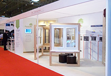 Paxtons exhibition stand